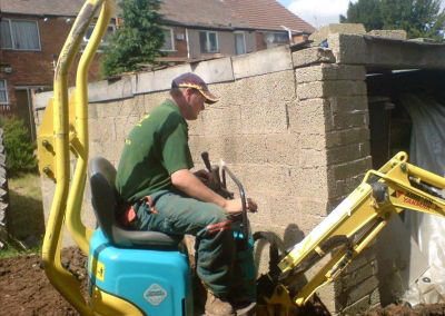 Worcester Based Diggers and Mini Diggers